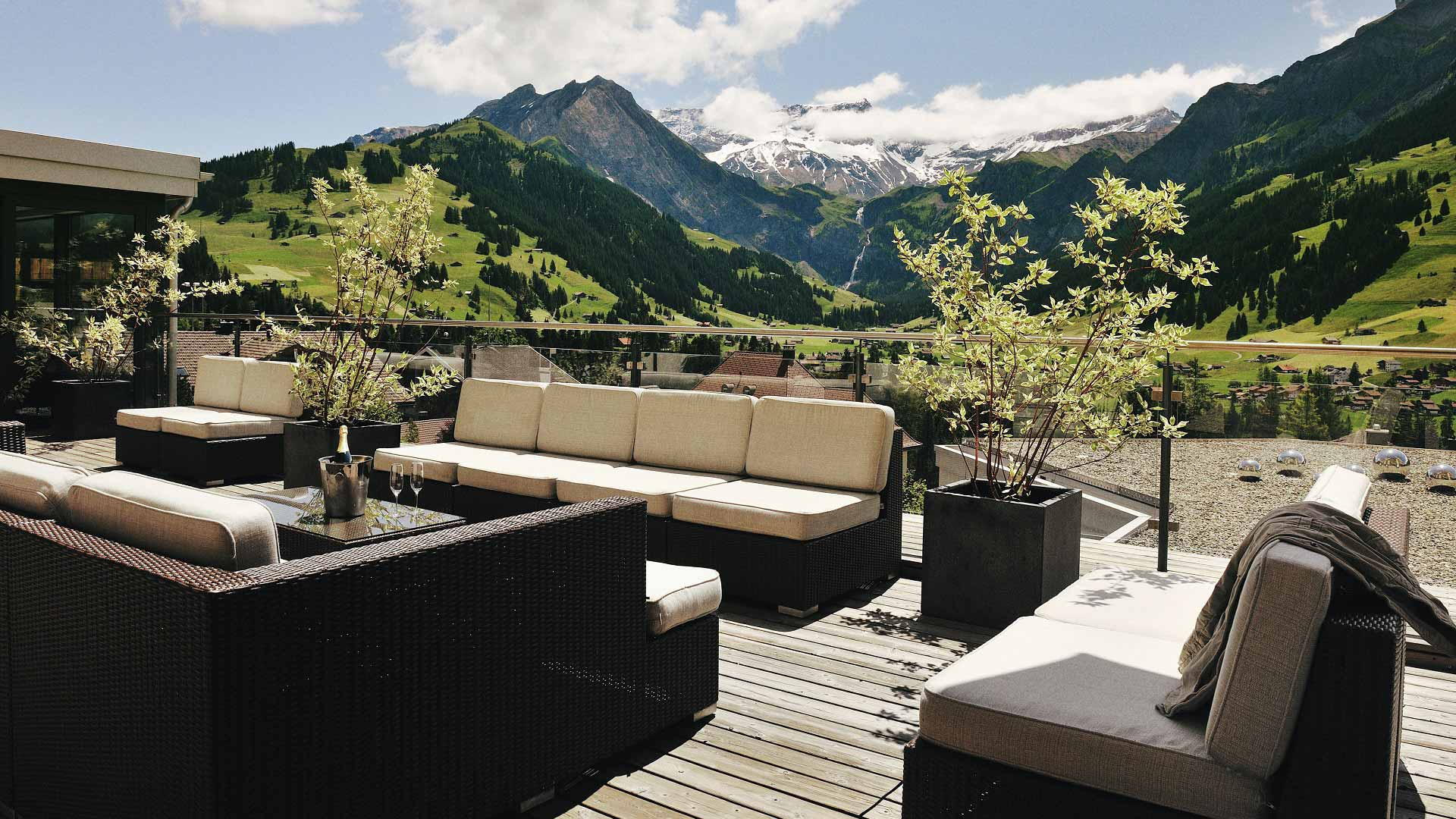 Luxury hotels in switzerland refined 5 star accommodation for Hotel design grisons