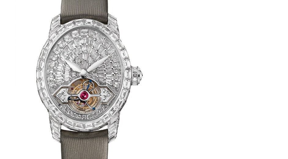 Fabulous luxury diamond watch from Girard-Perregaux