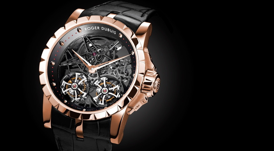 beautiful design from luxury swiss watch manufacturer roger dubuis. Black Bedroom Furniture Sets. Home Design Ideas