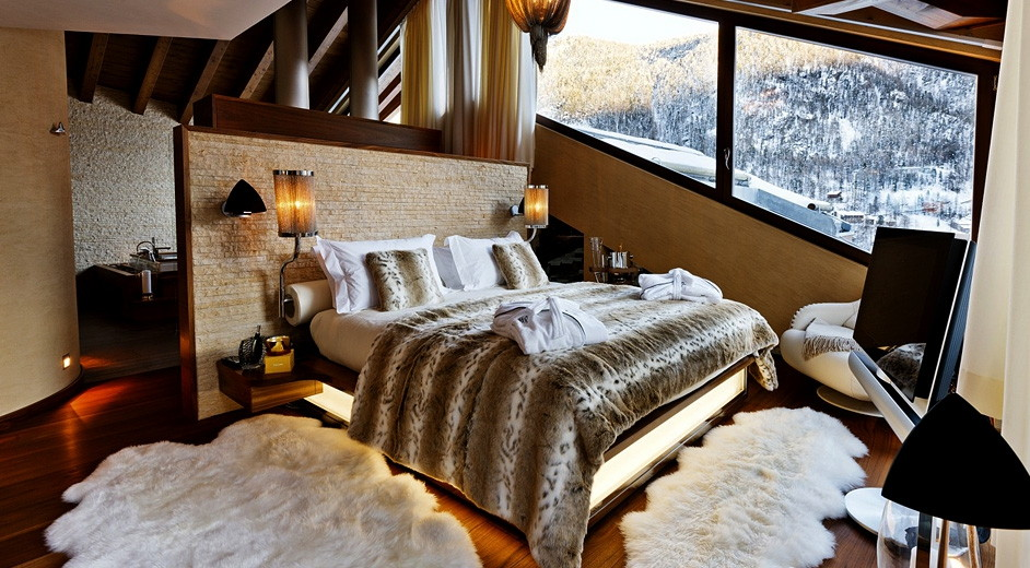 location chalet de luxe en suisse chalet zermatt peak. Black Bedroom Furniture Sets. Home Design Ideas