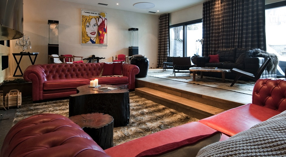 Luxury five star ski apartment complex in crans montana for Exclusive luxury accommodation
