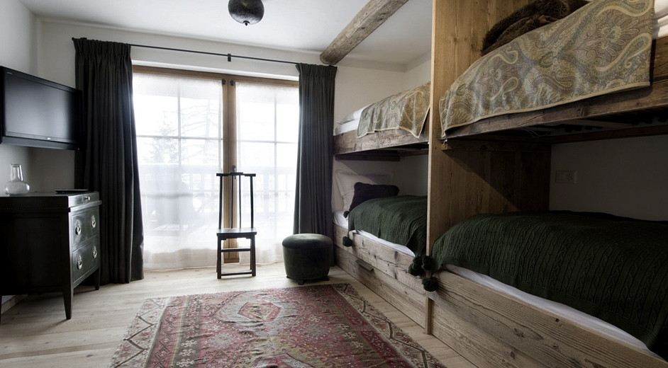 exclusive ski chalet rental in verbier with spa near ski lifts