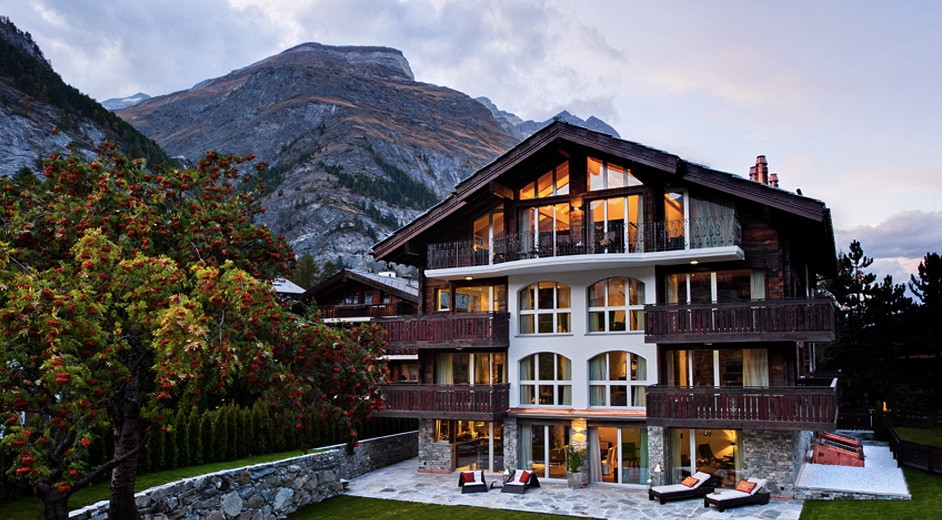 Attractive 5 Star Ski Apartments For Rent In Zermatt With Matterhorn View