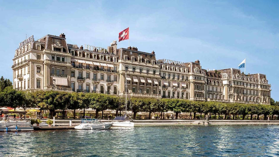 Lucerne 5 Star Lakeside Hotel With Pool Grand Hotel National