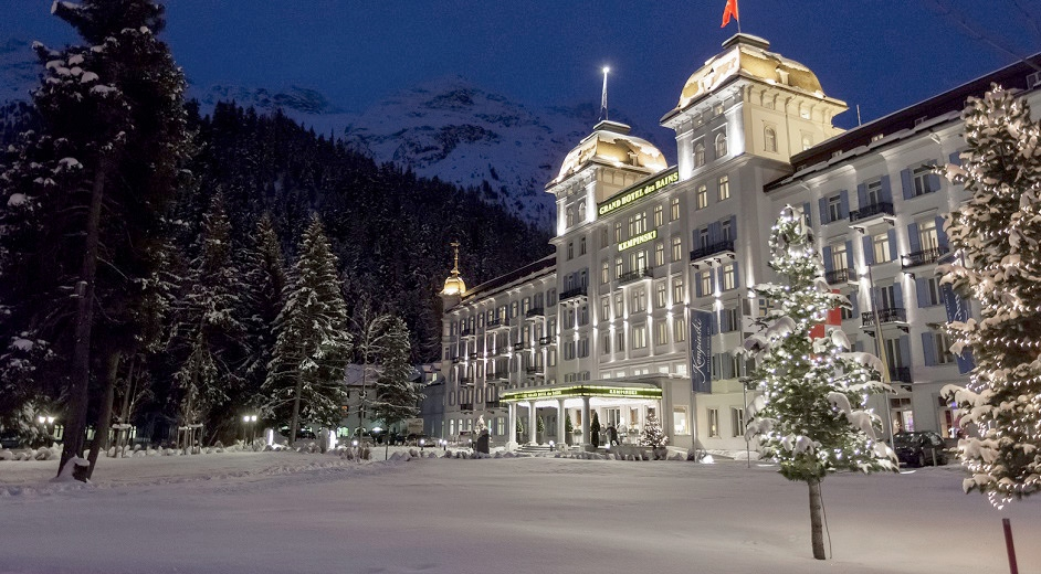 5 star alpine spa resort in st moritz kempinski grand for Grand hotel des bain