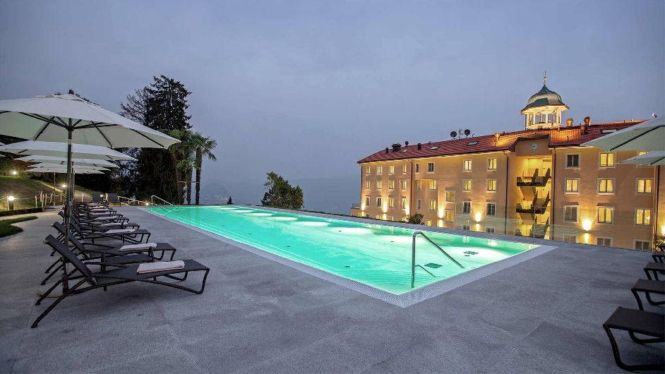 Modern 5 star hotel with gourmet dining in lugano for 5 star modern hotels