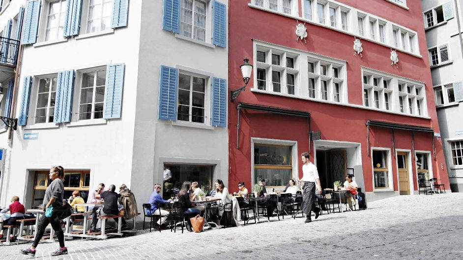 Zurich 3 star hotel with great views marktgasse hotel for Hotel central boutique