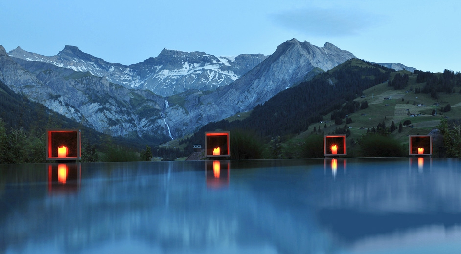 Modernes luxus hotel in adelboden berner oberland the for Hotel design schweiz