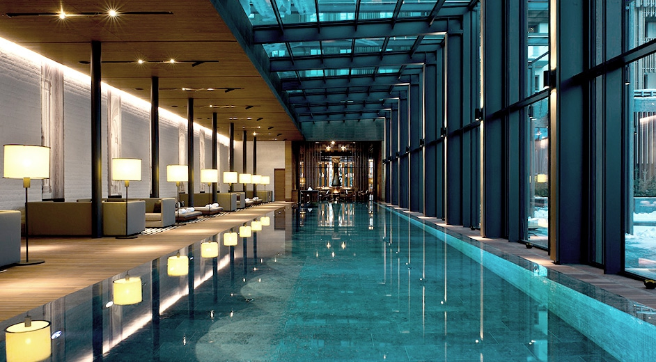 exklusives 5 sterne hotel in andermatt nahe skilift the chedi