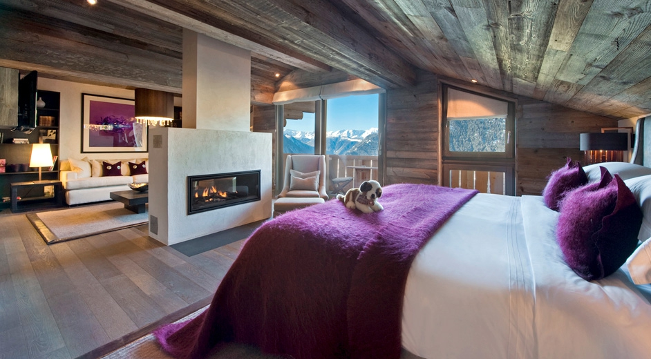 5 star family friendly chalet for rent in verbier with for Moderne skihotels