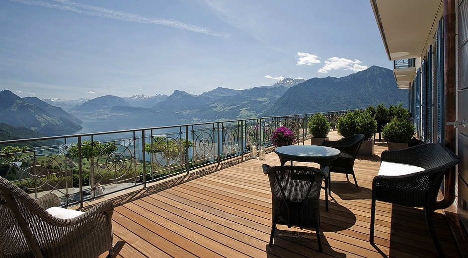 Elegant Lucerne Luxury Hotel With Pool U0026 Scenic Views   Villa Honegg Design