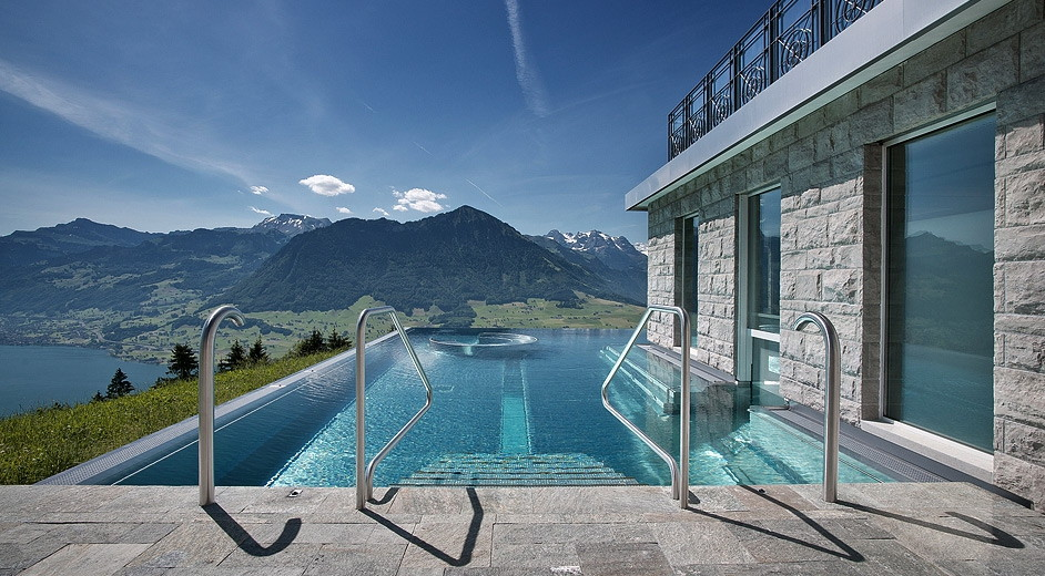 5 star spa hotel lucerne 39 villa honegg 39 scenic lake mountain views. Black Bedroom Furniture Sets. Home Design Ideas