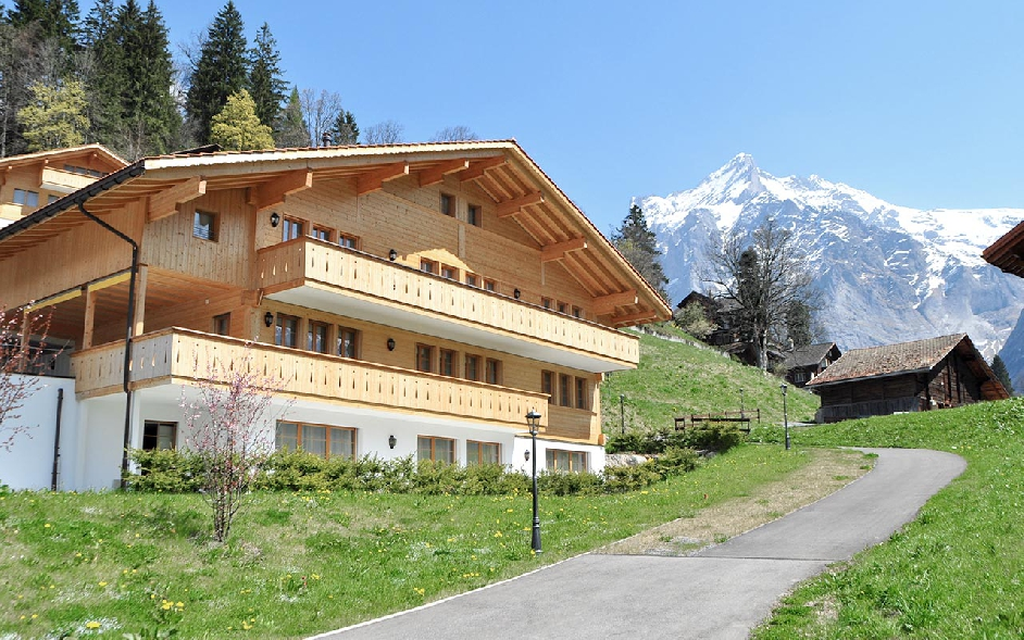 luxury chalet for rent in the bernese oberland near eiger jungfrau