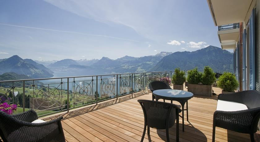 5 Star Hotel In The Swiss Alps Overlooking Lake Lucerne